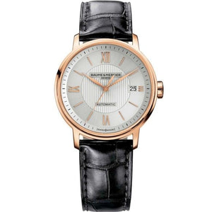Baume & Mercier Classima Automatic 39Mm 18K Rose Gold (10037) - Watches Boston