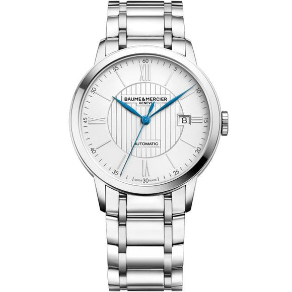 Baume & Mercier Classima Automatic 40Mm Stainless Steel (10215) - Watches Boston