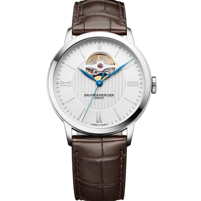 Baume & Mercier Classima Automatic 40Mm Stainless Steel (10274) - Watches Boston