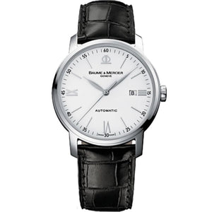 Baume & Mercier Classima Automatic 42Mm Stainless Steel (10332) - Watches Boston