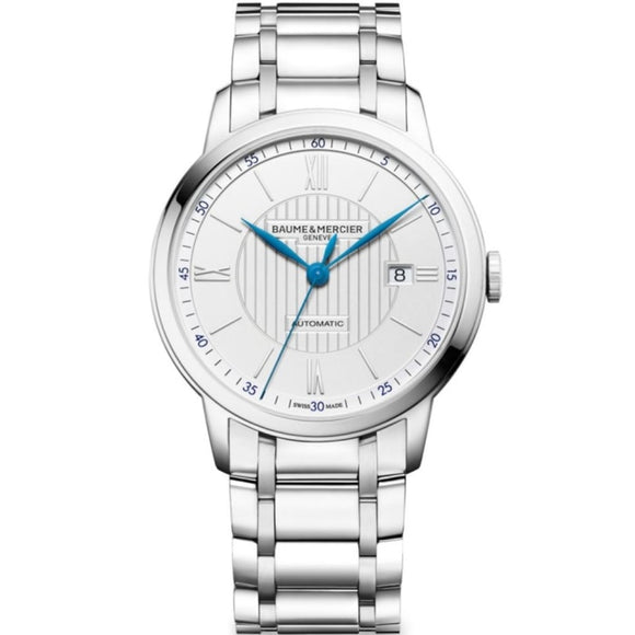 Baume & Mercier Classima Stainless Steel 40Mm (10334) - Watches Boston