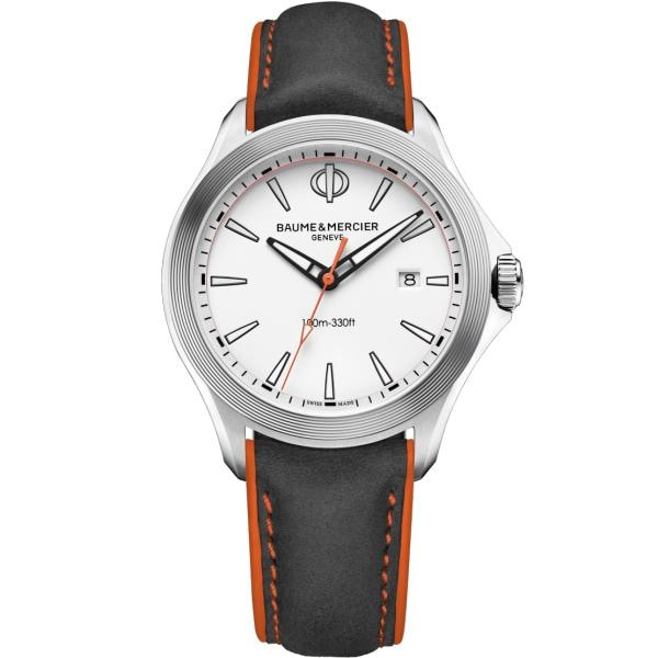 Baume & Mercier Clifton Club Stainless Steel 42Mm (10410) - Watches Boston