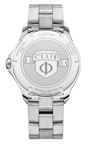Baume & Mercier Clifton Club Stainless Steel 42Mm (10413) - Watches Boston