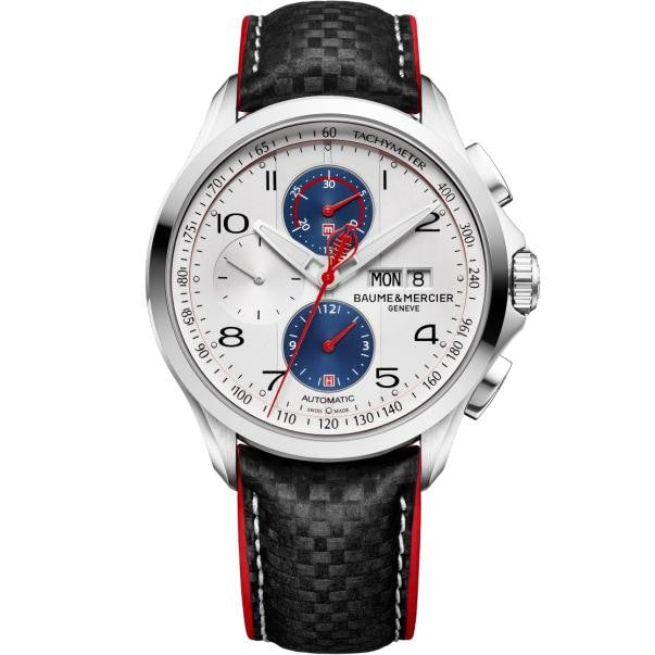 Baume & Mercier Clifton Cobra Automatic Chronograph 44Mm Stainless Steel (10342) - Watches Boston