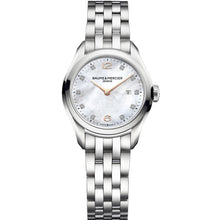 Load image into Gallery viewer, Baume & Mercier Clifton Ladies 30Mm Stainless Steel (10176) - Watches Boston