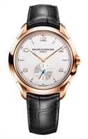 Baume & Mercier Clifton Manual Wind 42Mm 18K Rose Gold (10060) - Watches Boston