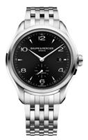 Baume & Mercier Clifton Small Seconds Automatic 41Mm Stainless Steel (10100) - Watches Boston