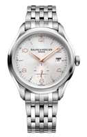 Baume & Mercier Clifton Small Seconds Automatic 41Mm Stainless Steel (10141) - Watches Boston