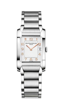 Baume & Mercier Hampton Ladies 22Mm Stainless Steel (10049) - Watches Boston
