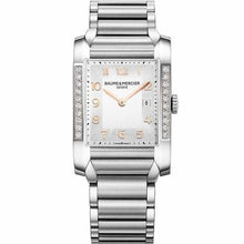 Load image into Gallery viewer, Baume & Mercier Hampton Ladies 27Mm Stainless Steel W/ Diamonds (10023) - Watches Boston