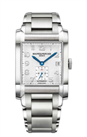 Baume & Mercier Hampton Xl 32X45Mm Stainless Steel W/ Diamonds (10047) - Watches Boston