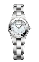 Baume & Mercier Linea Ladies 27Mm Stainless Steel (10011) - Watches Boston