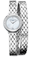 Baume & Mercier Petite Promesse 22Mm Stainless Steel (10289) - Watches Boston