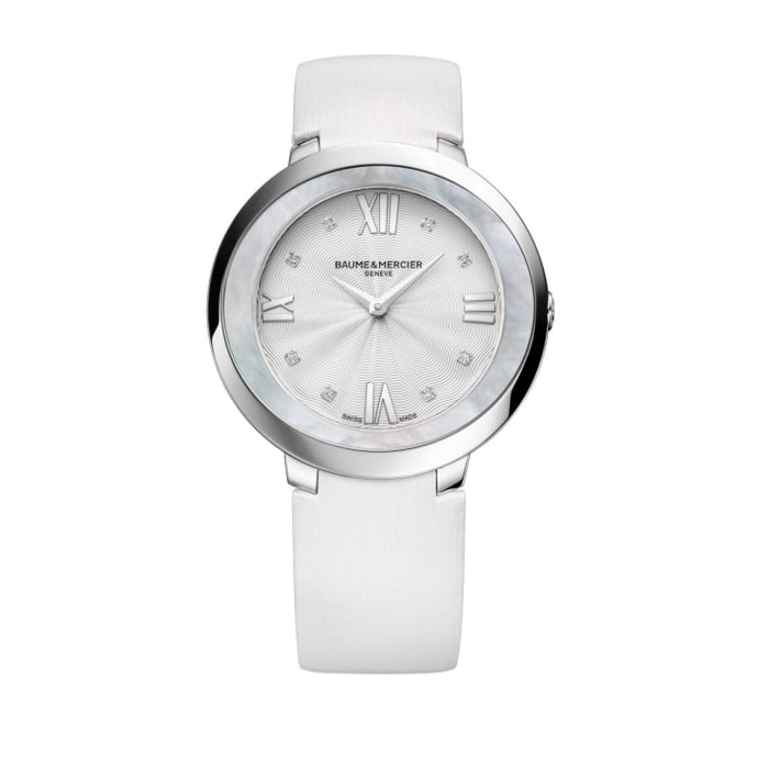 Baume & Mercier Promesse 34.4Mm Stainless Steel (10177) - Watches Boston