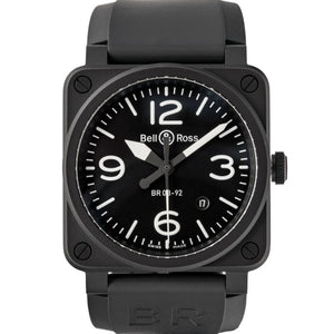 Bell And Ross Br 03 92 Matte Black Ceramic 42Mm (Br03-92/cbl) - Boston