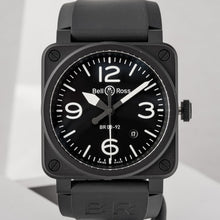 Load image into Gallery viewer, Bell And Ross Br 03 92 Matte Black Ceramic 42Mm (Br03-92/cbl) - Boston
