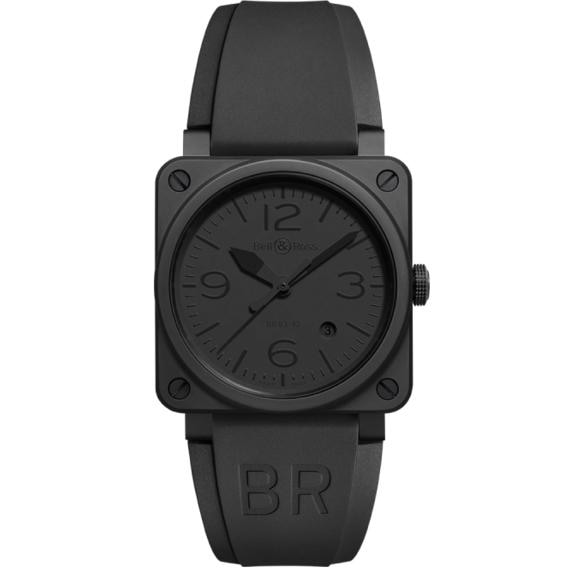 Bell & Ross Aviation Phantom Pvd Stainless Steel 42Mm (Br0392-Phantom-Ce) - Watches Boston