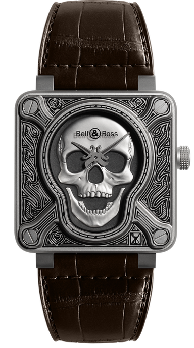 Bell & Ross BR0192 Burning Skull - Boston