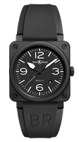 Bell & Ross Br 03-92 Black Matte 42Mm Ceramic (Br0392-Bl-Ce) - Watches Boston