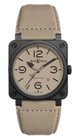 Bell & Ross Br 03-92 Desert Type 42Mm Ceramic (Br0392-Desert-Ce) - Watches Boston