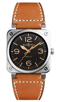 Bell & Ross Br 03-92 Golden Heritage 42Mm Stainless Steel (Br0392-St-G-He-/sca/2) - Watches Boston