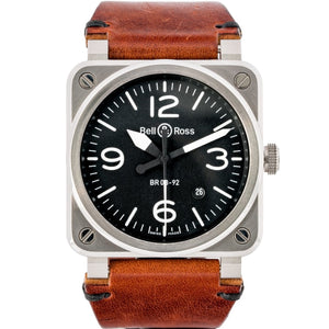 Bell & Ross BR 03 92 Stainless Steel 42mm (BR03-92 Steel) - Boston