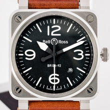 Load image into Gallery viewer, Bell & Ross BR 03 92 Stainless Steel 42mm (BR03-92 Steel) - Boston