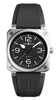 Bell & Ross Br 03-92 Steel 42Mm Stainless Steel (Br0392-Bl-St) - Watches Boston