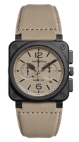 Bell & Ross Br 03-94 Desert Type 42Mm Ceramic Chronograph (Br0394-Desert-Ce) - Watches Boston
