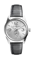 Bell & Ross Br 123 Officer Silver 41Mm Stainless Steel (Brg123-Wh-St/scr) - Watches Boston