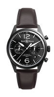 Bell & Ross Br 126 Original Carbon Chronograph (Brv126-Bl-Ca/sca) - Watches Boston