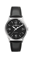 Bell & Ross Br V1 Black Steel 38.5Mm Stainless Steel (Brv192-Bl-St/sca) - Watches Boston