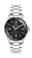 Bell & Ross Br V2-92 Black Steel 41Mm Stainless Steel (Brv292-Bl-St/sst) - Watches Boston