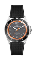 Bell & Ross Br V2-92 Garde-Cotes 41Mm Polished Steel (Brv292-Ora-St/srb) - Watches Boston