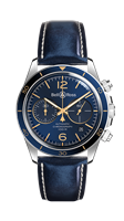 Bell & Ross Br V2-94 Aeronavale 41Mm Chronograph (Brv294-Bu-G-St-Sca) - Watches Boston