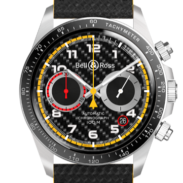 Bell & Ross BRV294-RS18 LE Black Chrono Steel - Boston
