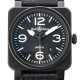Bell & Ross Military Aviation Black Pvd Stainless Steel 42Mm (Br03-92) - Boston