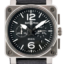 Load image into Gallery viewer, Bell & Ross Military Aviation Chronograph Stainless Steel 42Mm (Br03-94 Steel) - Boston