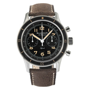 Blancpain Air Command Chronograph Special Edition Stainless Steel 42.5mm (AC01 1130 63A) - Boston