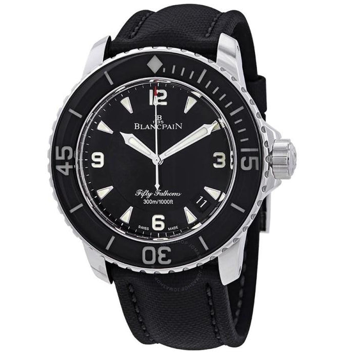 Blancpain Fifty Fathoms 45mm Steel Black - Boston