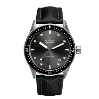 Blancpain Fifty Fathoms Bathyscaphe Stainless Steel 43Mm (5000-1110-B52A) - Watches Boston