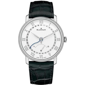 Blancpain Villeret Ultra Slim Date 30 Seconds Retrograde Stainless Steel 40Mm (6653Q-1127-55B) - Watches Boston