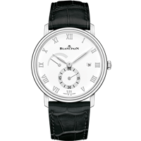 Blancpain Villeret Ultra Slim Power Reserve Stainless Steel 40Mm (6606A-1127-55B) - Watches Boston