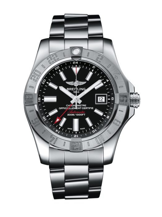Breitling Avenger Gmt Ii 43Mm Stainless Steel (A3239011/bc35/170A) - Watches Boston
