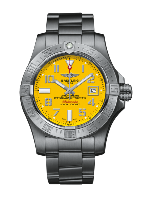 Breitling Avenger Ii Seawolf 45Mm Satin Stainless Steel Head Only (A1733110/1519) - Watches Boston
