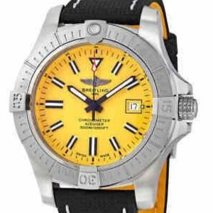 Breitling Avenger Seawolf Automatic 45 Stainless Steel/Strap (A173191011 1X2) - WATCHES Boston