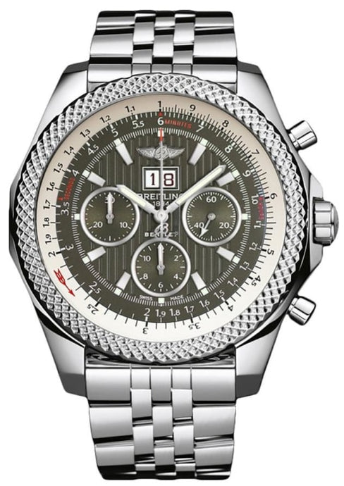 Breitling Bentley 6.75 Stainless Steel 49Mm (A4436412/f568/990A) - Watches Boston