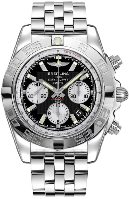 Breitling Chronomat 44Mm Stainless Steel (Ab011012/b967/375A) - Watches Boston