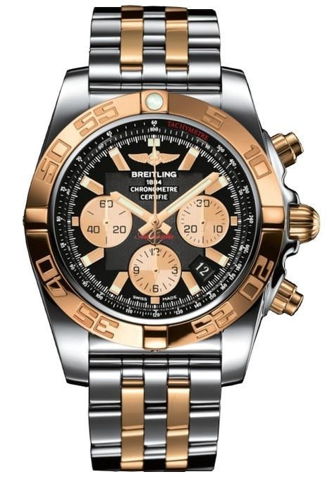 Breitling Chronomat 44Mm Stainless Steel/rose Gold (Cb011012/b968/375C) - Watches Boston