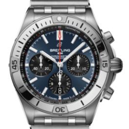Breitling Chronomat B01 42 Blue Dial (AB134101C1A1) - Boston